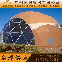 欧式户外酒店球形帐篷圆形展览活动蓬房透明球形酒店帐篷
