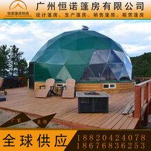 透明球形酒店帐篷半圆形展览帐篷户外景观度假村泡泡棚厂家直销