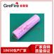 深圳厂家直销18650锂电池1800mah正品足容小LED灯应急灯专用