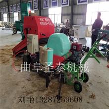 辽宁捆包膜机厂家玉米秸杆青贮技术秸秆青贮包膜机图片