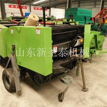 小麦打捆机视频拾草机厂家图片