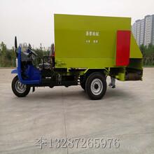 河南驻马店小型撒料车工作视频图片