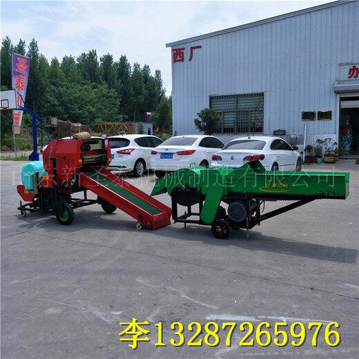 內蒙古玉米桿青儲打包機用途