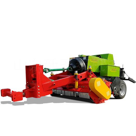 黑龍江玉米秸稈方捆機秸稈撿拾打捆機經銷