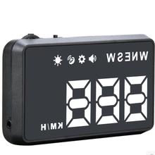 hud抬头显示器汽车车载通用GPS数字无obdF206