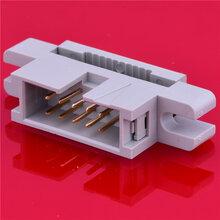 压线式简牛2.54MM间距牛角插座210