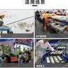 武汉厂家批发牛筋底迷彩雨鞋男高筒水鞋防滑劳保胶靴耐油酸碱雨靴
