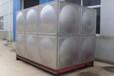 组合式不锈钢板给水箱的特点