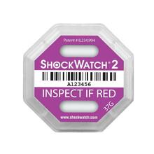 冲击指示器防震标签shockwatch防震标签