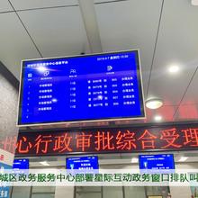 绵阳涪城政务中心部署星际互动政务大厅智能引导系统