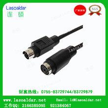S端子线MINIDIN延长线音视频线信号线汽车导航连接线生产厂家