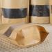 廣州義統茶葉包裝磨砂方窗牛皮拉鏈紙袋250g食品包裝包裝定制