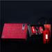 廣州義統包裝守真紅色2+2小茶罐高檔復古茶葉禮盒定制批發