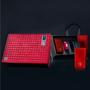 广州义统包装守真红色2+1双马口铁随身太空罐高档茶叶礼盒定制图片