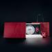 广州义统包装守真半字版红色茶饼装配太空罐高档茶叶礼盒定制批发