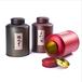 广州义统包装马口铁拉丝咖9626茶也包装圆形铁罐3-5斤装茶叶包装定制批发