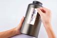 广州义统包装马口铁9170素茶叶拉丝绿罐桶大花茶礼盒包装1斤装圆形茶叶包装批发定制