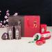 广州义统包装6083韵醉香纯色铁罐茶叶罐通用食品包装圆形罐茶叶包装罐定制批发