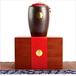 广州义统包装茶色竹制茶叶罐高档礼盒私家茶品天目釉陶瓷罐茶叶包装定制批发