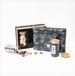 廣州義統包裝091潤物3玻璃罐竹蓋直筒玻璃茶葉禮盒包裝定制批發廠家