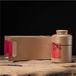 義統包裝生鐵16135金色茶葉圓罐茶葉禮盒批發包裝廠家