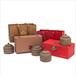 广州义统包装厂家万事如意两小陶罐礼盒装陶瓷茶叶包装厂家