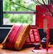 广州义统包装厂家平安有福摆泡茶叶盒天然竹编方盒5格三两装包装定制批发