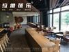 西安咖啡廳實木桌椅實木圓桌廠家直供