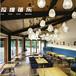 西安欧式布艺咖啡厅沙发卡座休闲吧酒吧奶茶甜品店西餐厅桌椅专业厂家供应
