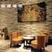 西安咖啡厅西餐厅高档会所配套桌椅卡座沙发吧台生产定制