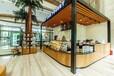 西安甜品店桌椅甜品店实木桌椅设计定做