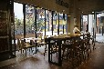 西安甜品店吧台桌椅甜品店实木吧椅定做
