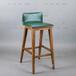 咖啡廳吧椅西餐廳實木吧椅