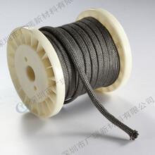 广瑞工厂直销耐高温金属线金属套管金属绳金属带金属布规格全