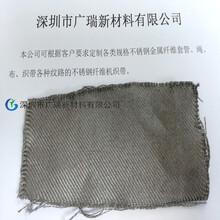 抢购厂家直销钢化玻璃行业专用耐高温金属布,品质保障