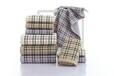 河北高阳穆皇毛巾生产厂家批发巴宝莉同款毛巾浴巾礼品盒装