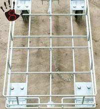 厂家直销防静电牵引式乌龟车行李不锈钢静音小推车加工定制图片