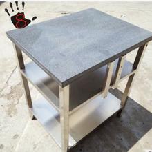 厂家直销不锈钢花岗岩水平测试工作台大理石加厚操作台图片