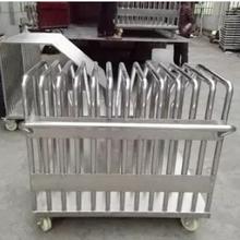 厂家直销不锈钢重型刀模模组推车光电行业专用存放周转车图片