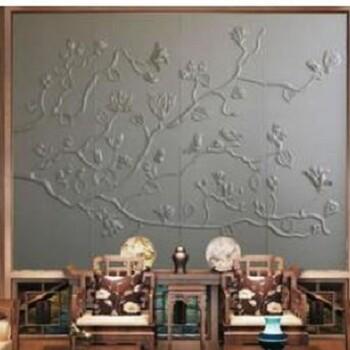 喷绘皮革沙发布背景墙