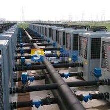 美的空气能小店煤改电中标厂家、山西三晋阳光空气能煤矿采暖热水