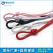 厂家直销现货优质手机绳3.5mm高强涤纶编织绳包芯彩色中国结绳