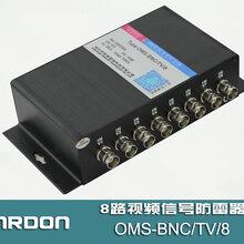 OMS-BNC/TV/88路视频信号防雷器,视频信号浪涌保护器
