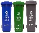 上海奉贤20L分类垃圾桶分类垃圾桶订单不断图片