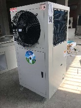 农业温室大棚冬天加温设备水源热泵冷暖空调最节能图片