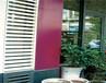 山东济南铝合金百叶窗厂家,外墙百叶窗,空调护栏