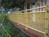 山东济南仿竹护栏厂家,水泥仿竹栏杆,不锈钢仿竹