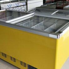 商用岛柜冷冻食品展示柜速冻冰柜粽子汤圆冷冻展示柜厂家直销图片
