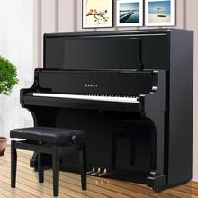 河南郑州哪里卖雅马哈卡哇伊二手钢琴最大的二手钢琴批发图片