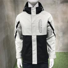 韓版牛仔寬松夾克秋季休閑工裝夾克,一手貨低價直銷圖片